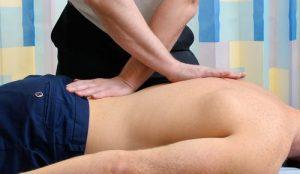 physiotherapy massage - Sports Injury